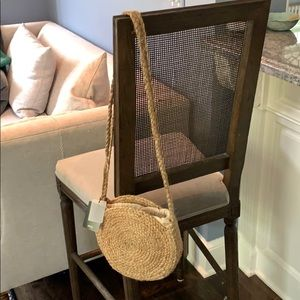 NWT Mango Straw/Jute crossbody bag!  New!!